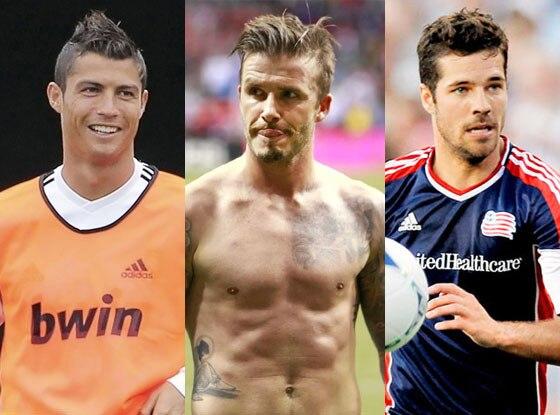 David Beckham, Cristiano Ronaldo, Benny Feilhaber
