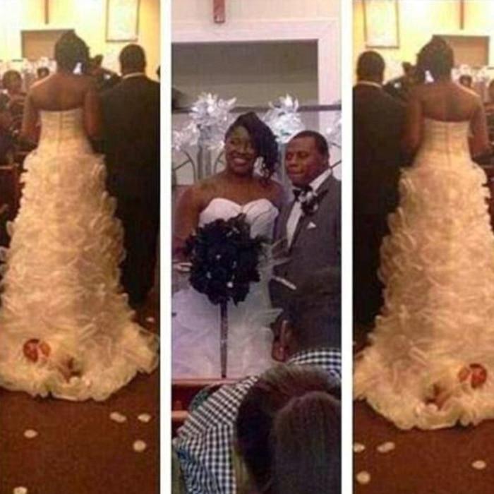Shona Carter-Brooks, Baby Wedding Dress