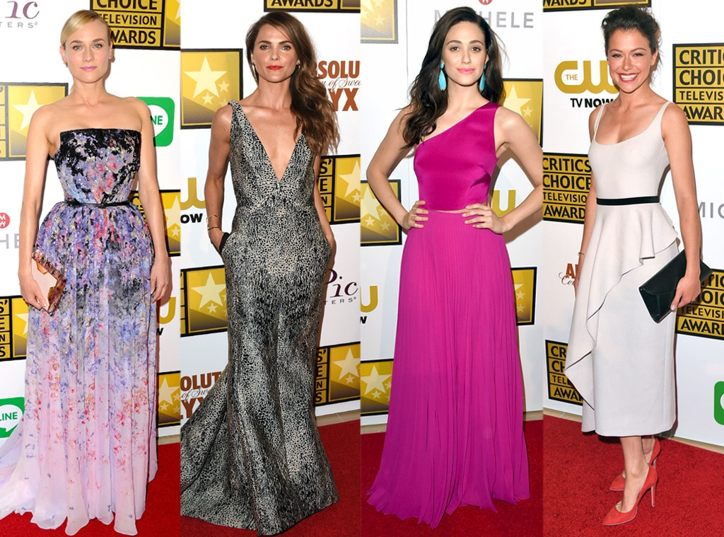 Keri Russell, Diane Kruger, Emmy Rossum, Tatiana Maslany, Critics' Choice Television Awards