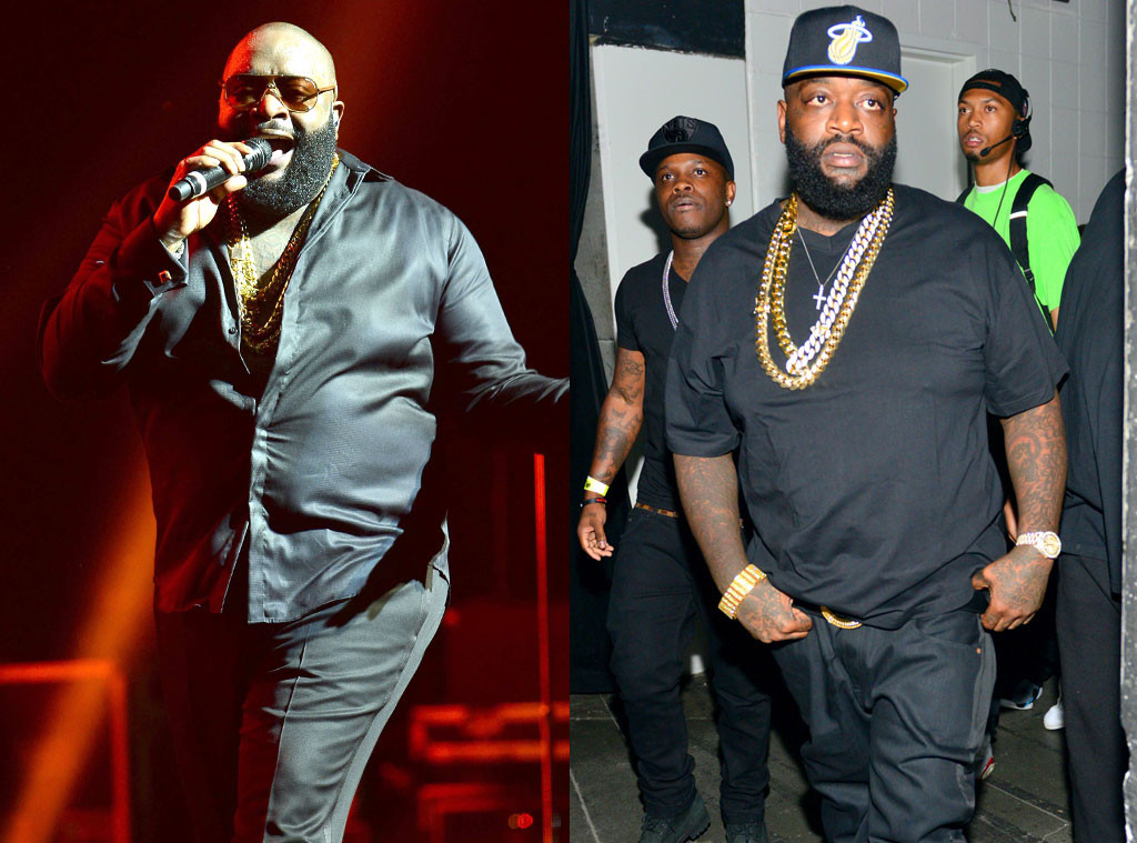 Rick Ross' Weight Loss Is Unbelievable! See Pics of the ...