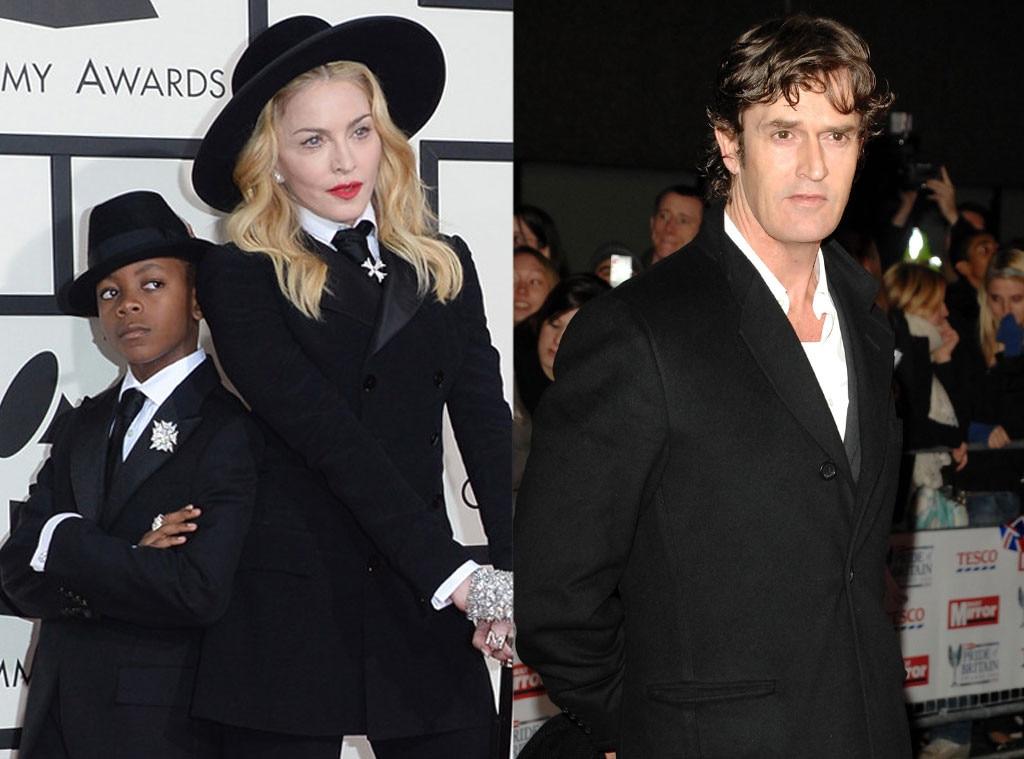 Madonna, David Banda, Rupert Everett, Godparents