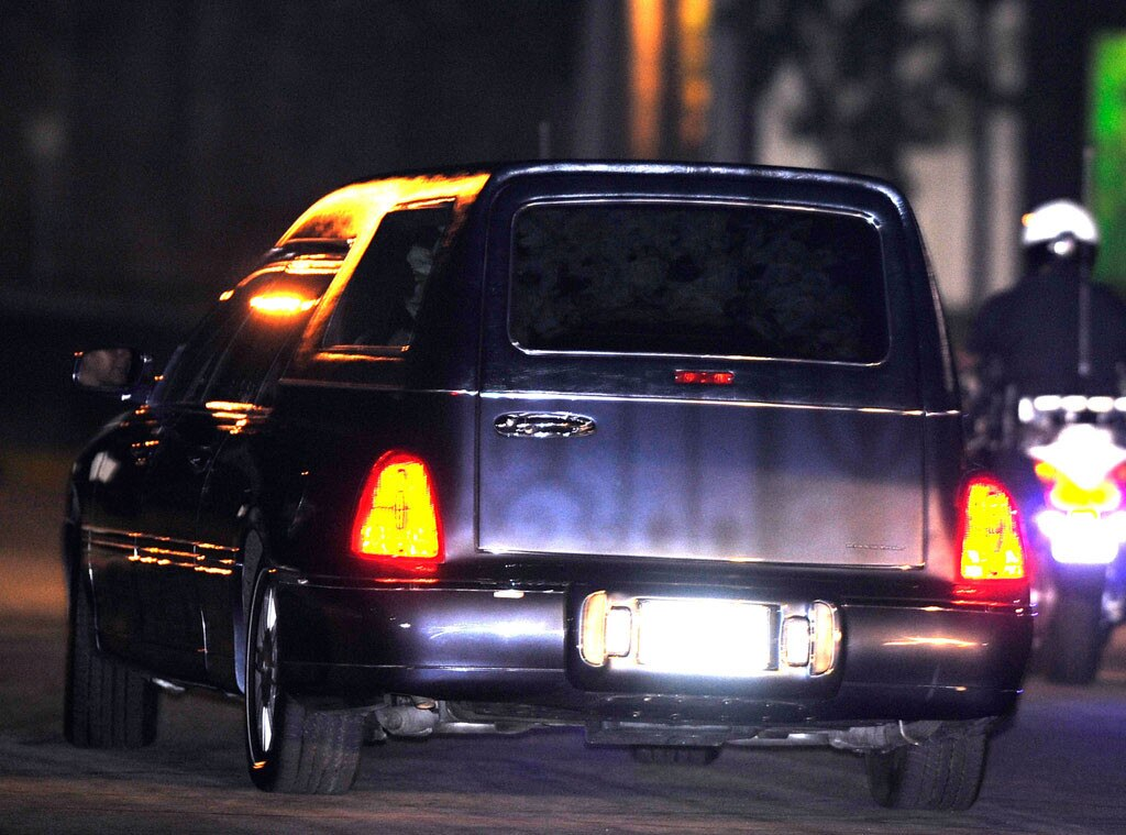 Michael Jackson, Hearse, Funeral