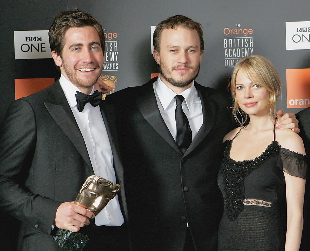 Jake Gyllenhaal, Heath Ledger, Michelle Williams, Godparents