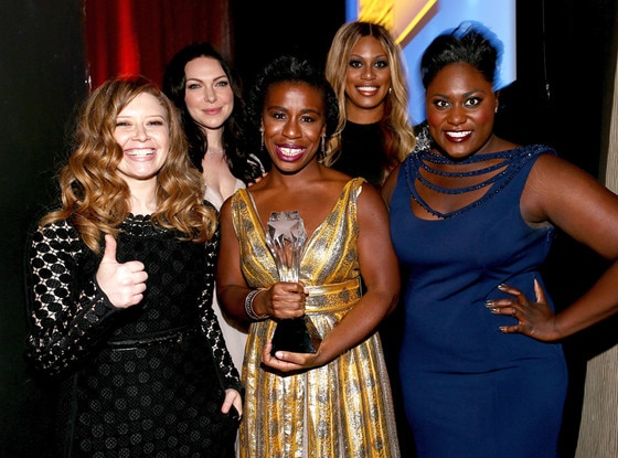 Natasha Lyonne, Laura Prepon, Uzo Aduba, Laverne Cox, Danielle Brooks, Critics Choice Awards