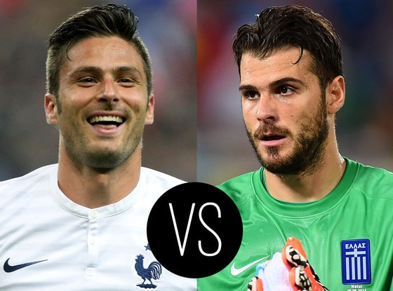 World Cup Hotties, Olivier Giroud, Orestis Karnezis