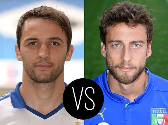 World Cup Hotties, Milan Badelj, Claudio Marchisio