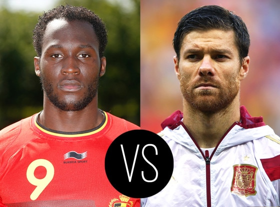 World Cup Hotties, Romelu Lukaku, Xabi Alonso