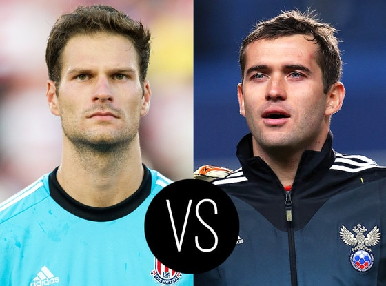World Cup Hotties, Asmir Begovic, Aleksandr Kerzhakov