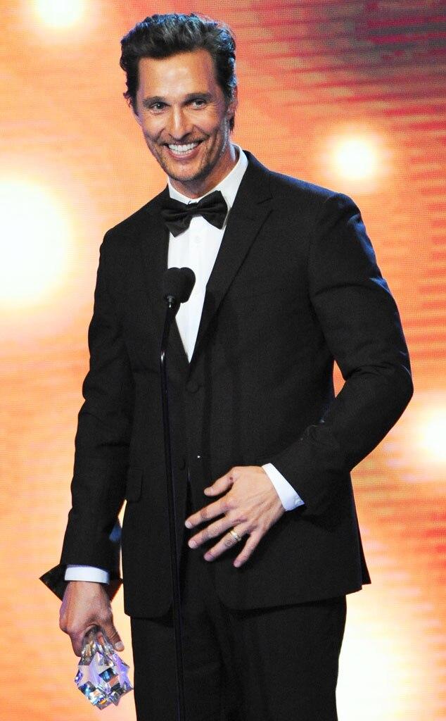Matthew McConaughey, Critics' Choice Awards