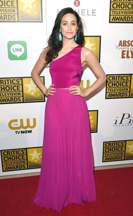 Emmy Rossum, Critics' Choice Television Awards