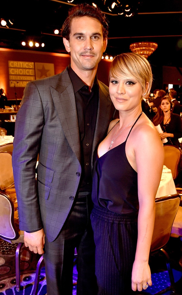 Kaley Cuoco, Ryan Sweeting, Critics Choice Awards
