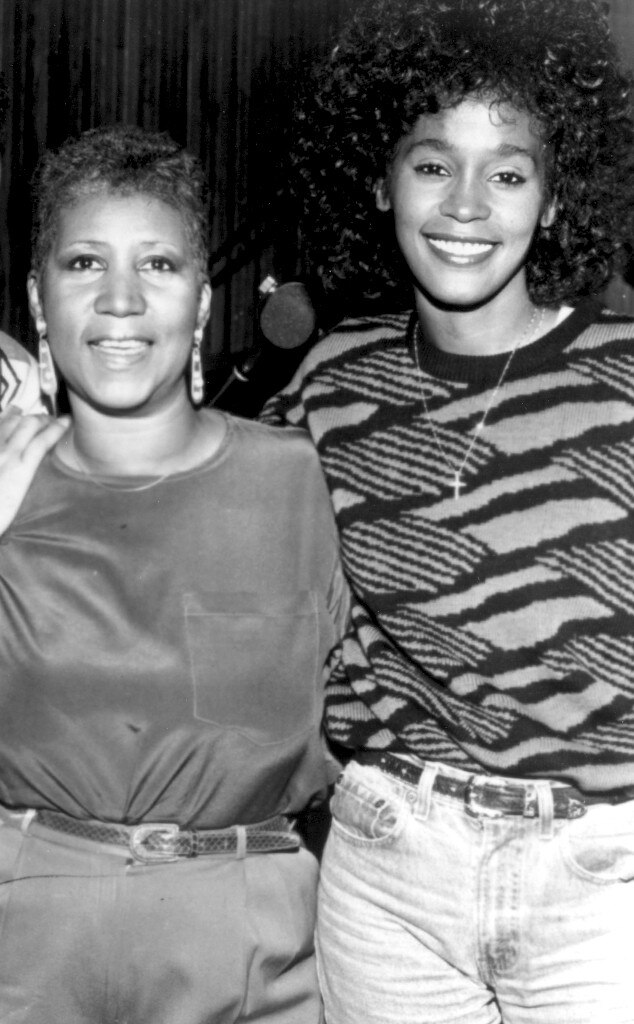 Aretha Franklin, Whitney Houston, Godparents