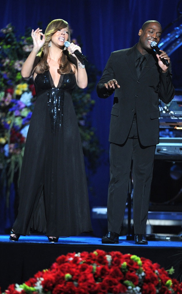 Mariah Carey, Trey Lorenz, Michael Jackson, Memorial