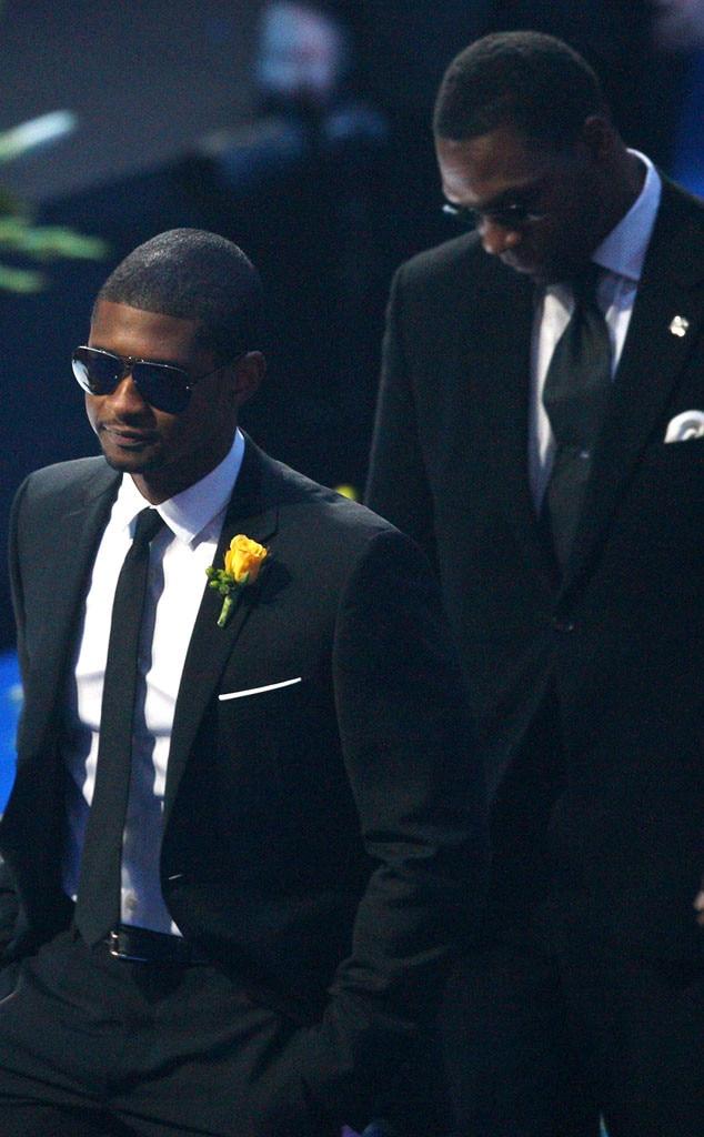 Usher, Michael Jackson, Memorial