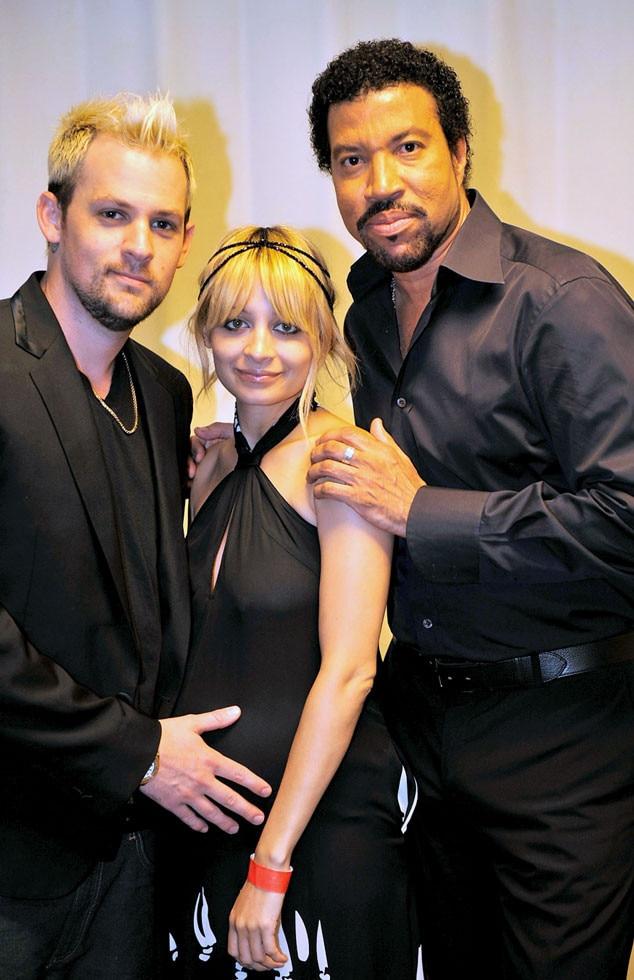 Joel Madden, Nicole Richie, Lionel Richie