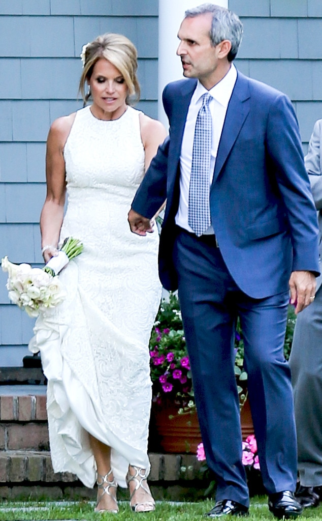 Katie Couric Wedding Dress