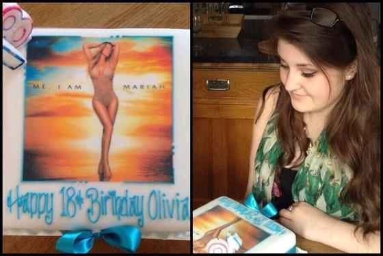 Mariah Carey Fan Cake