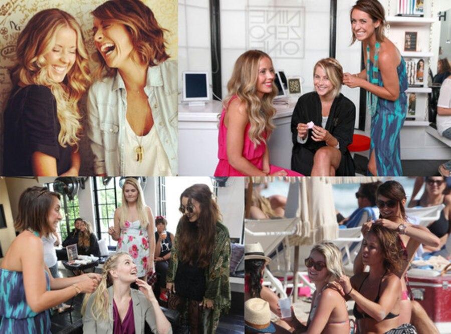 Glam Squad, Riawna Capri, Nikki Lee