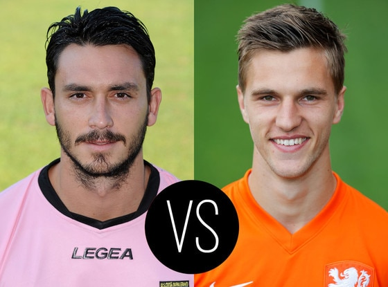 World Cup Hotties, Mauricio Pinilla, Joel Veltman