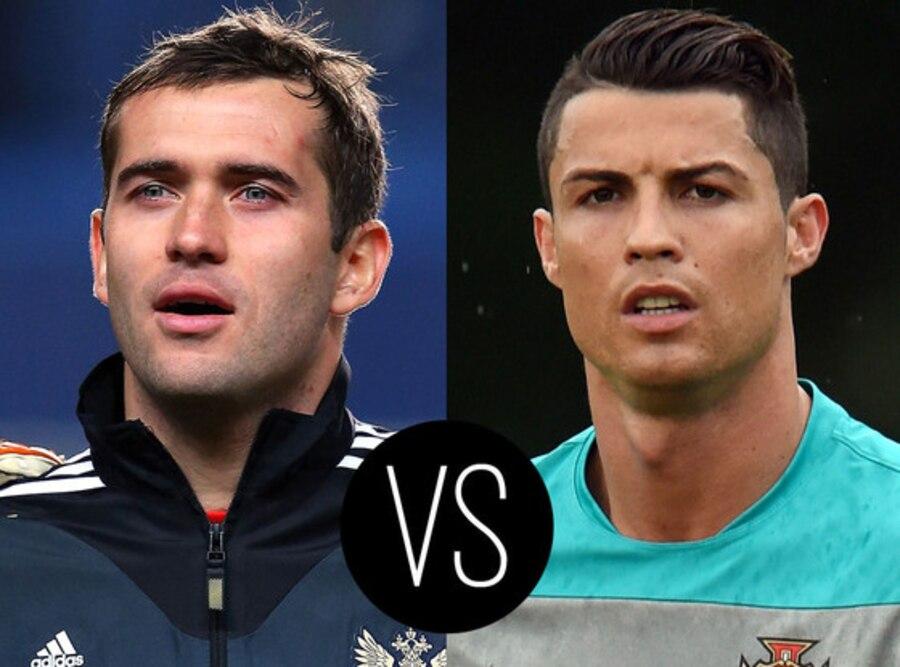 World Cup Hotties, Aleksandr Kerzhakov, Christiano Ronaldo