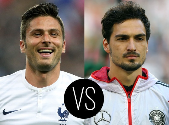 World Cup Hotties, Olivier Giroud, Mats Hummels