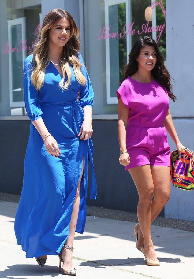 Khloe Kardashian, Kourtney Kardashian