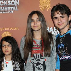 Blanket Jackson, Paris Jackson, Prince Michael Jackson