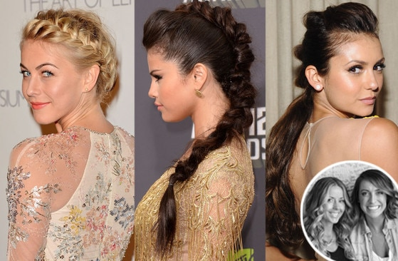 Glam Squad, Riawna Capri, Nikki Lee, Julianne Hough, Selena Gomez, Nina Dobrev