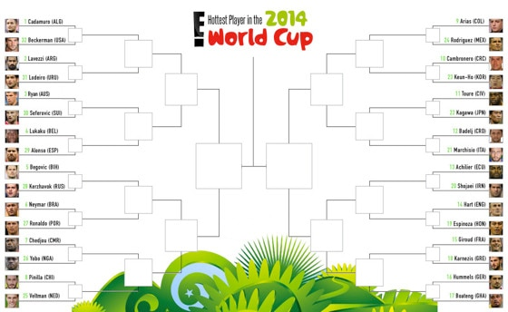 World Cup Hotties Bracket Round 1