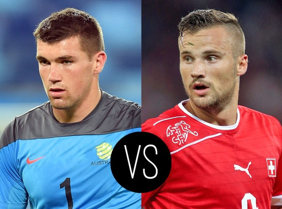World Cup Hotties, Maty Ryan, Haris Seferovic