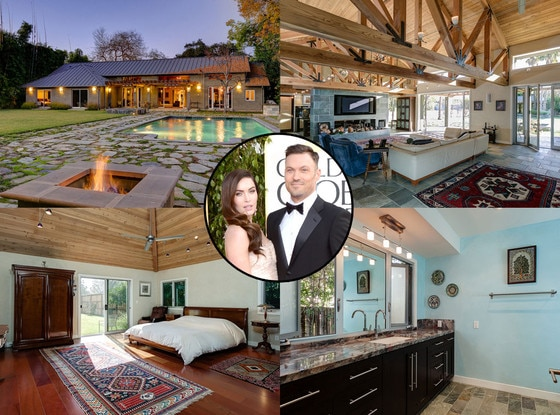 Brian Austin Green, Megan Fox, Bing Crosby Home