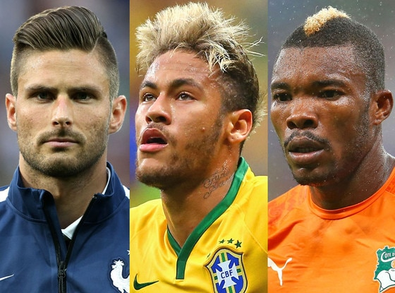 World Cup Hairstyles