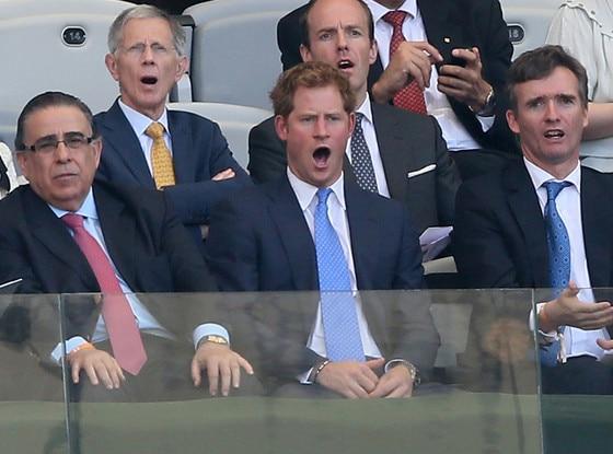 Prince Harry, World Cup