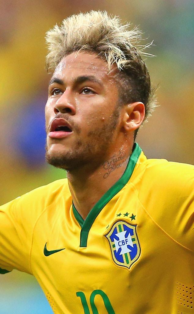 Neymar, World Cup Hairstyles