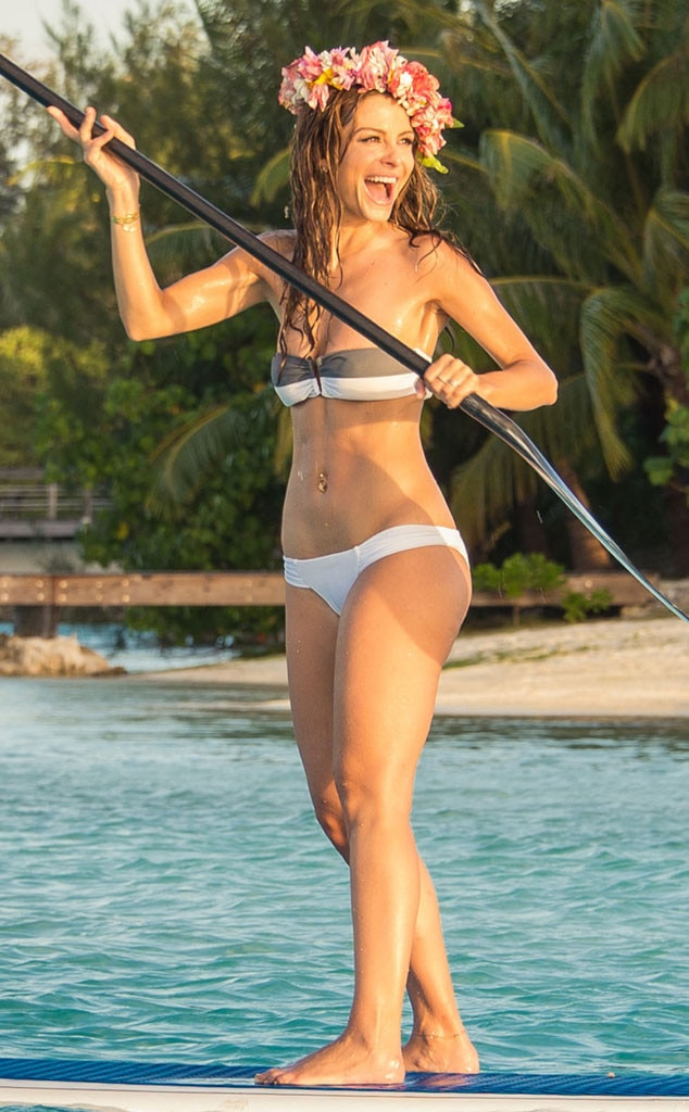 Maria Menounos, Paddleboard