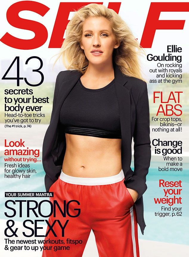 Ellie Goulding, SELF Magazine