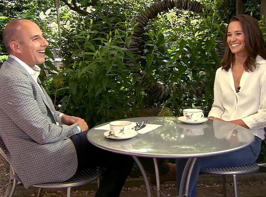 Matt Lauer, Pippa Middleton
