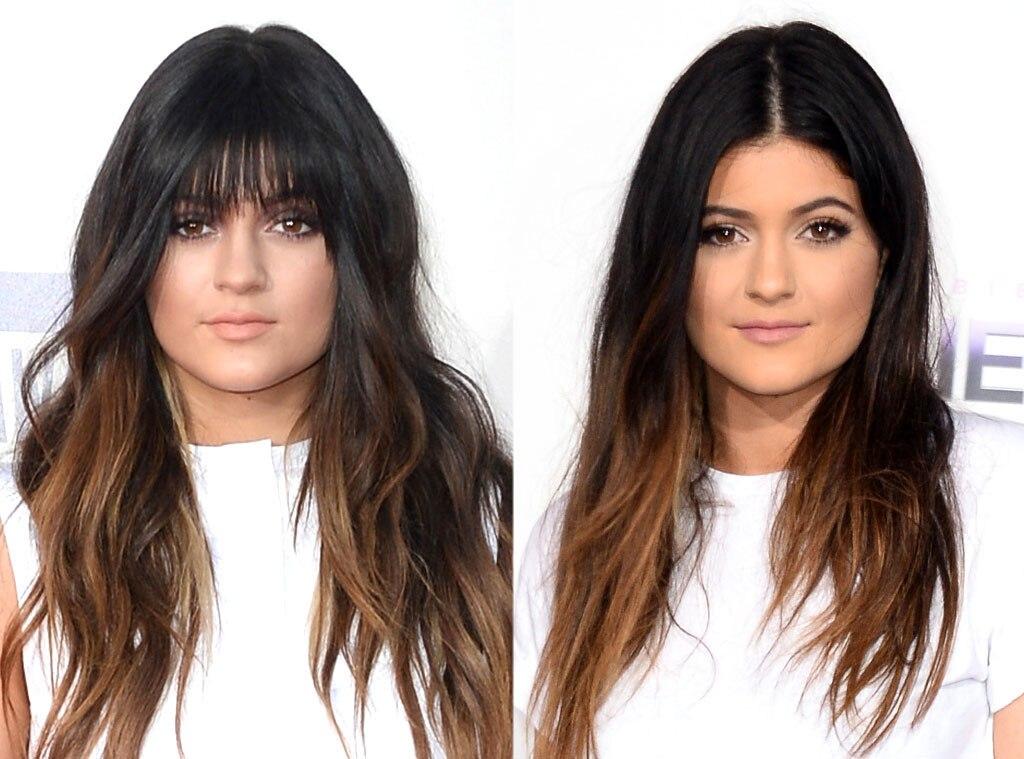 Kylie Jenner, Bangs