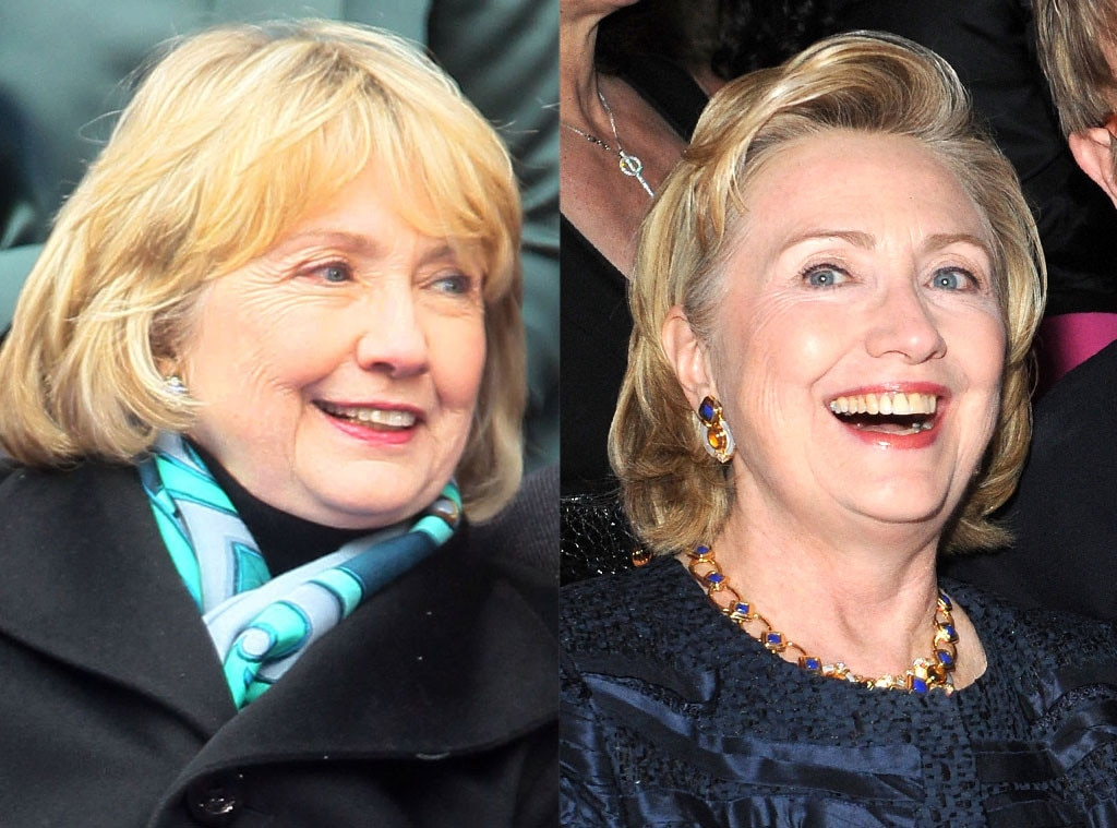 Hillary Clinton, Bangs