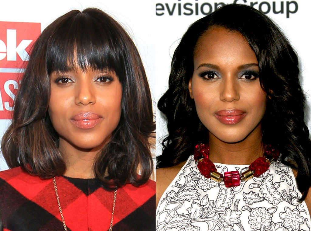 Kerry Washington, Bangs