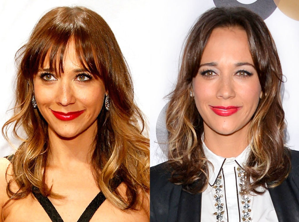 Rashida Jones, Bangs