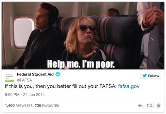 FAFSA Tweet