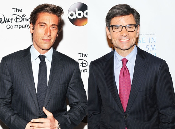 David Muir, George Stephanopoulos