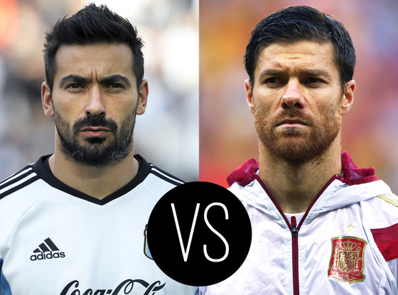 World Cup Hotties, Ezequiel Lavezzi, Xabi Alonso