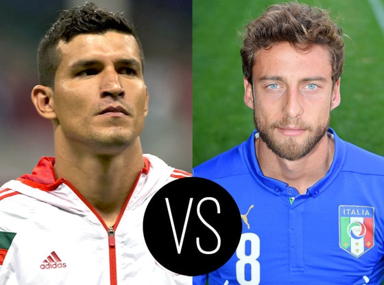 World Cup Hotties, Francisco Rodríguez, Claudio Marchisio
