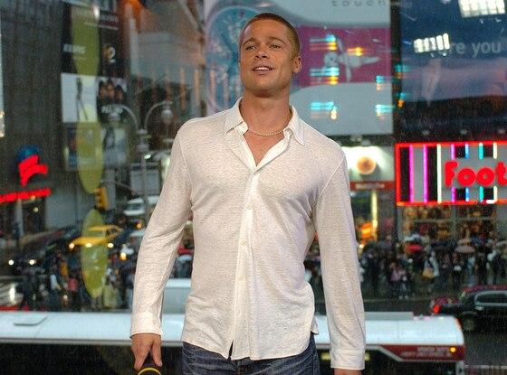 Brad Pitt, TRL