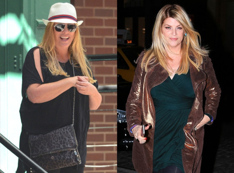 Kirstie Alley, Weigh Loss