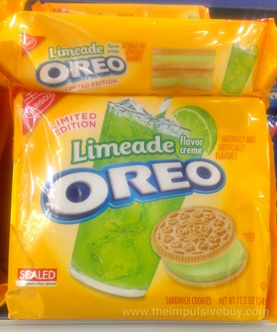 Limeade Oreos