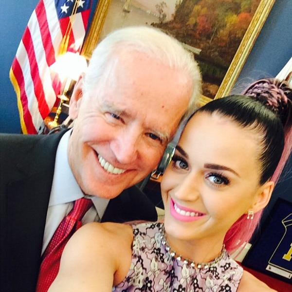 Katy Perry, Joe Biden, Instagram