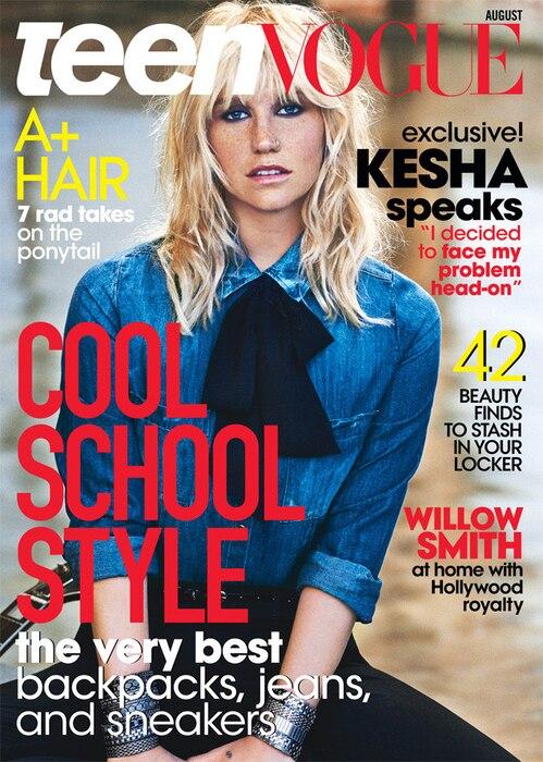 Kesha Teen Vogue